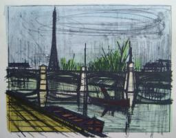 Bernard Buffet - Paris - Le Point du jour