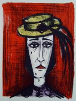 Bernard Buffet - In fancy dress