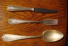 Besteck-Set Wellner-Silber