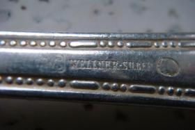 Foto 3 Besteck-Set Wellner-Silber