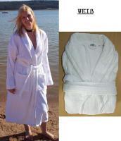 Bestware an Qualitäts-Bademäntel in weiß 100% Baumwolle