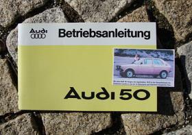 Betriebsanleitung AUDI 50 / 1977 (VW Polo I)