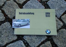 Betriebsanleitung BMW 1600 Cabriolet 02er 1967
