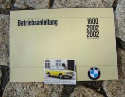 Betriebsanleitung BMW 1600 / 2002 (1970)