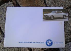 Betriebsanleitung BMW 3200 CS Bertone 1962