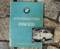 Betriebsanleitung BMW 600 ''Große Isetta''