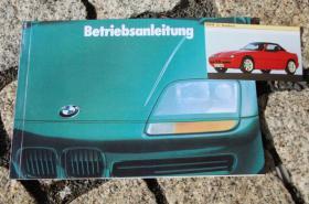 Betriebsanleitung BMW Z1 Roadster / 1989