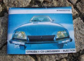 Foto 3 Betriebsanleitung Citroen CX 25 GTi Turbo 2 u. Prestige / 1985