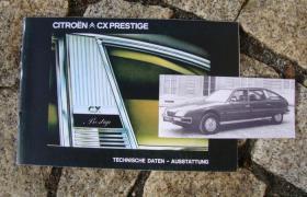 Foto 3 Betriebsanleitung Citroen CX Injection 2400 GTI 1978