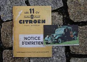 Betriebsanleitung Citroen TA 11 CV 1951 Traction Avant