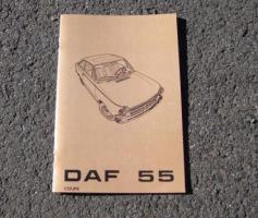 Betriebsanleitung DAF 55 Coupé (1970)