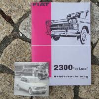 Foto 2 Betriebsanleitung FIAT 1800 B Limousine / Kombi 1964 Oldtimer
