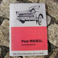 Foto 3 Betriebsanleitung FIAT 1800 B Limousine / Kombi 1964 Oldtimer