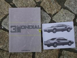 Betriebsanleitung Ferrari Mondial / 1986