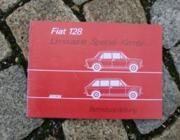 Betriebsanleitung Fiat 128 Special / 1975