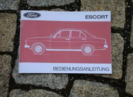 Betriebsanleitung Ford Escort I / 1973
