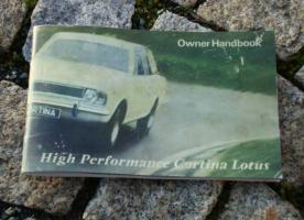 Betriebsanleitung Ford Lotus Cortina Mk II / 1967