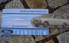 Betriebsanleitung Ford Taunus 17M (1963) P3 Badewanne