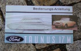 Betriebsanleitung Ford Taunus 17M (P3) 1963 Badewanne