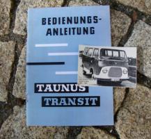Betriebsanleitung Ford Transit I / 1961
