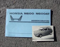 Foto 2 Betriebsanleitung Honda S 800 Coupé Cabriolet / 1968