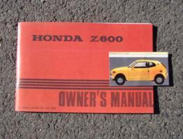 Foto 3 Betriebsanleitung Honda S 800 Coupé Cabriolet / 1968