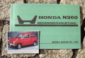 Foto 5 Betriebsanleitung Honda S 800 Coupé Cabriolet / 1968