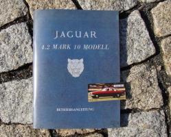 Betriebsanleitung Jaguar Mk 10 4,2 Litre (Mark X) 1965 Oldtimer