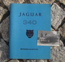 Betriebsanleitung Jaguar Mk II 340 / 1968