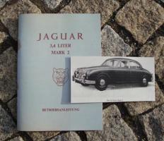Betriebsanleitung Jaguar Mk II 3,4 Liter