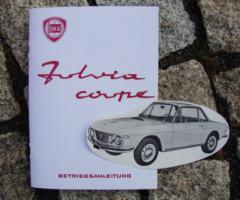 Betriebsanleitung Lancia Fulvia Coupé 1 1965