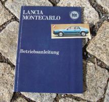 Betriebsanleitung Lancia Montecarlo (1976) Beta Montecarlo