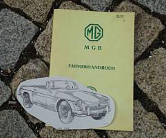 Betriebsanleitung MG B Roadster Mk I / 1965
