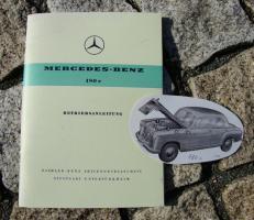 Betriebsanleitung Mercedes 180 c Ponton 1961