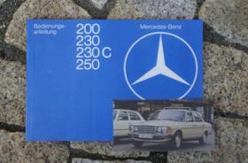 Betriebsanleitung Mercedes W123 200 230 230C 250 / 1979