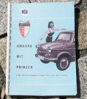 Betriebsanleitung NSU Prinz I / II / 30 / Sportprinz 1959