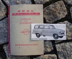 Betriebsanleitung Opel Olympia Rekord 53 Caravan (1954)