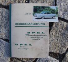 Betriebsanleitung Opel Rekord P2 / 1963