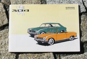 BA Peugeot 304 Cp+Cab 1971