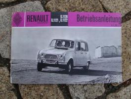 Foto 5 Betriebsanleitung Renault Caravelle Cabriolet 1962 (R1131)