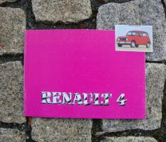 Betriebsanleitung Renault R 4 / 1987