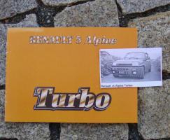 Betriebsanleitung Renault R 5 Alpine Turbo / 1982