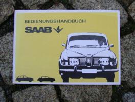 Betriebsanleitung Saab 96 V4 / 1968