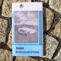 Betriebsanleitung Skoda Felicia Cabriolet 1959