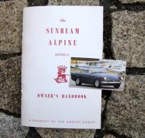 Betriebsanleitung Sunbeam Alpine Mk II 1960