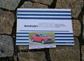 Betriebsanleitung Suzuki Cervo Coupé / 1979 SC100
