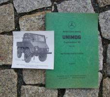 Betriebsanleitung Unimog 411 / 1961