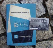 Betriebsanleitung VW Bus 1953 Transporter T1