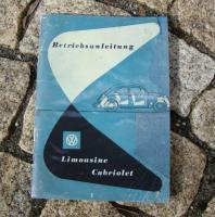 Betriebsanleitung VW Käfer (1953)