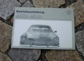 Betriebsanleitung VW Karmann Ghia 1600 / 1970